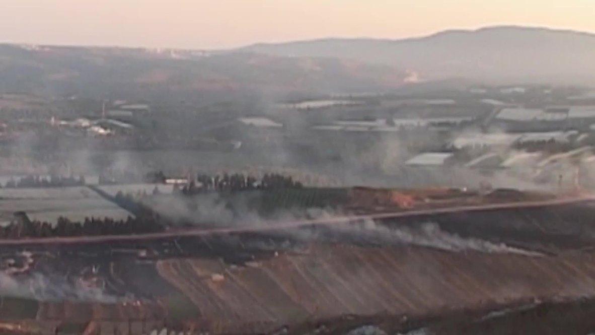 Lebanon: Israel strikes south Lebanon after Hezbollah rocket attack