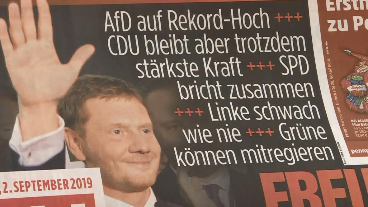 Alemania: Los habitantes de Dresde reaccionan ante el auge de AfD en las elecciones estatales de Sajonia