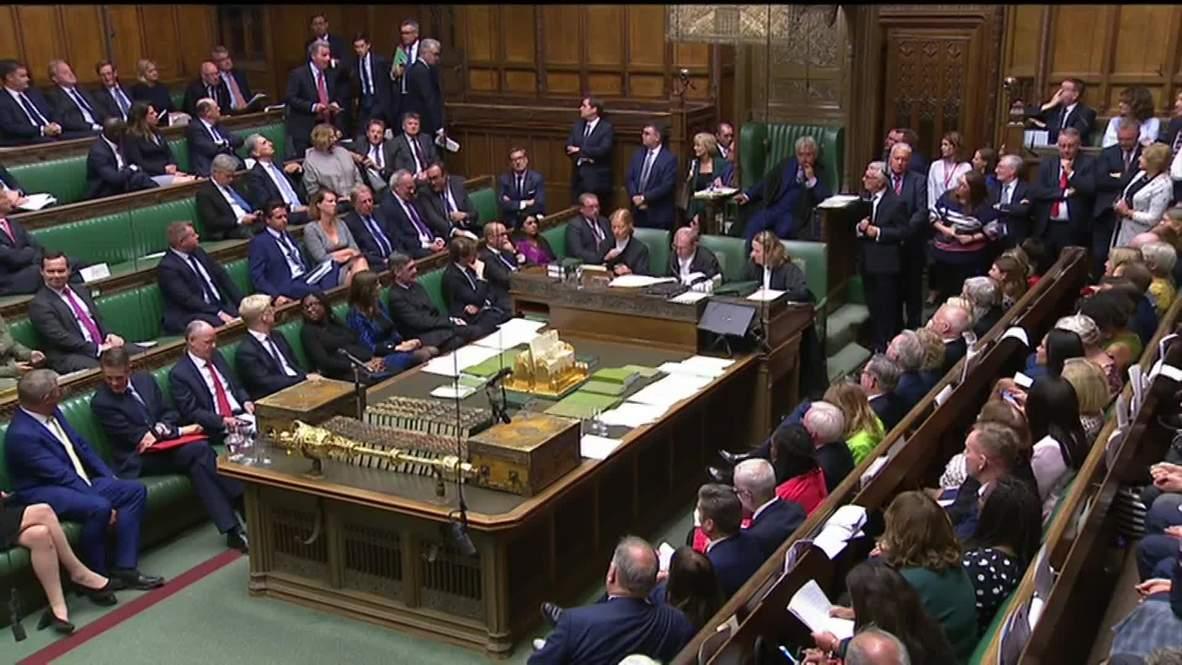 Reino Unido: Cámara de los Comunes autoriza debate de emergencia sobre el Brexit sin acuerdo