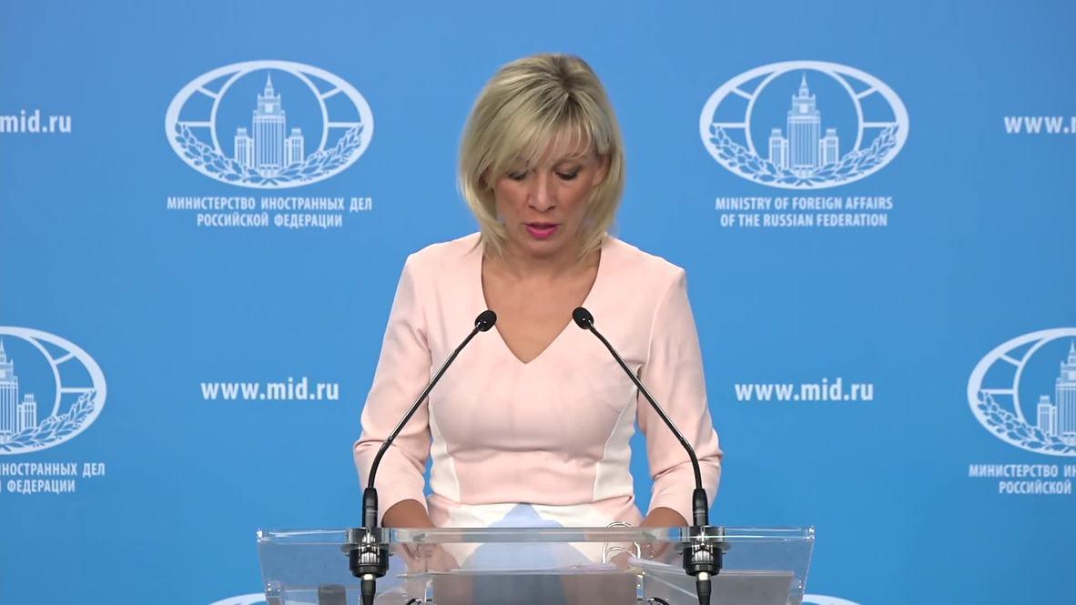 """Rusia: Zajárova condena la creación del """"Centro de Gobierno"""" de Guaidó en Venezuela"""