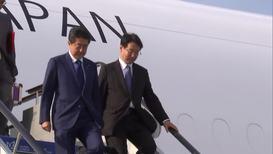 Россия: Премьер-министр Японии Синдзо Абэ прибыл во Владивосток на ВЭФ