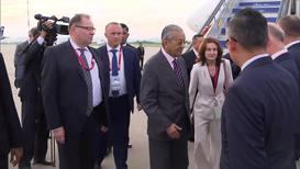 Россия: Премьер-министр Малайзии Махатхир Мохамад прибыл во Владивосток