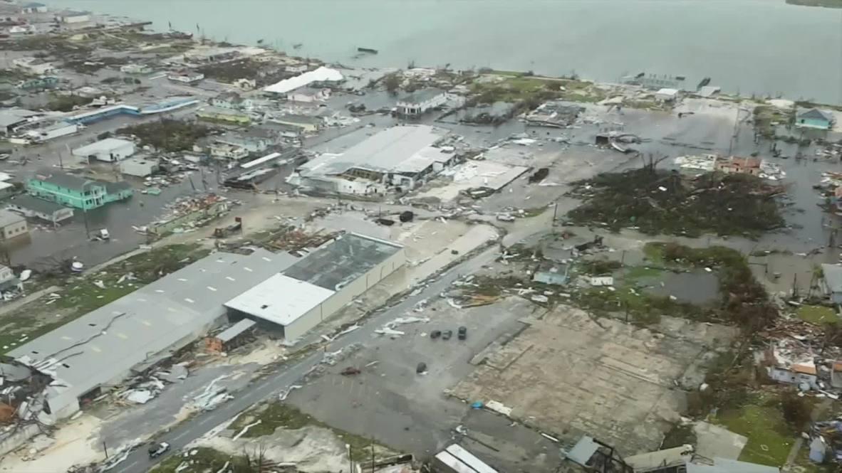 Bahamas: Aerial footage shows Abaco Islands destruction after Hurricane Dorian