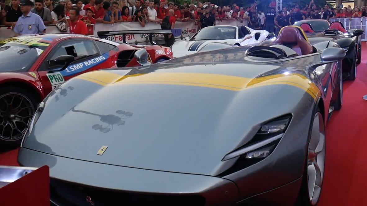 Fast and Ferrarious! - Ferrari celebrate 90th anniversary in Milan