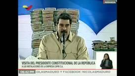 """Venezuela: Maduro anuncia el despliegue de un """"sistema de misiles"""" en la frontera con Colombia"""