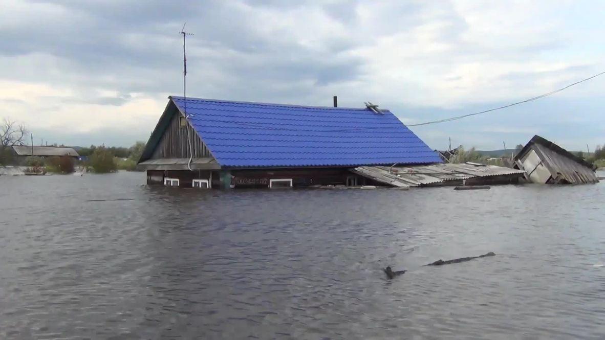 Россия: МЧС продолжает борьбу с паводком на Дальнем Востоке, уровень воды растет