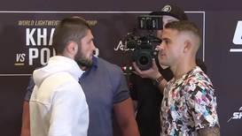 UAE: Khabib and Poirier face off in Abu Dhabi ahead of UFC 242 showdown