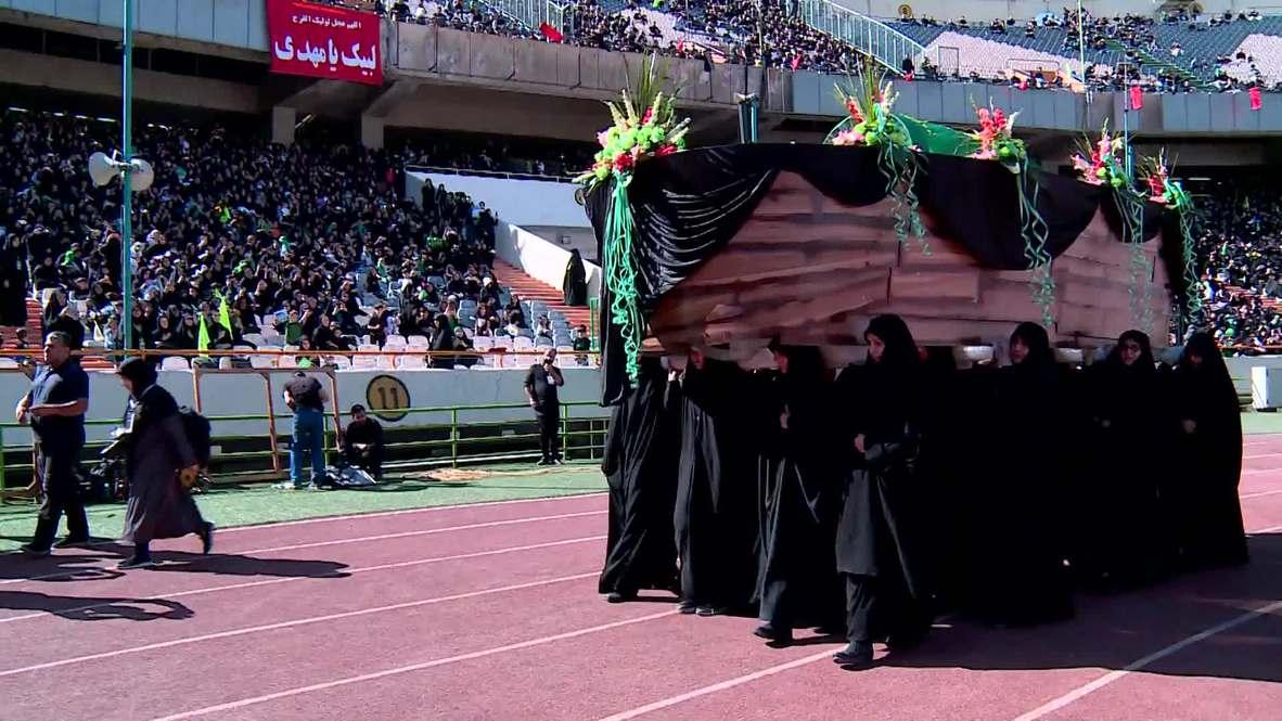 Iran: Thousands commemorate death of Prophet Muhammad's great-grandson in Tehran