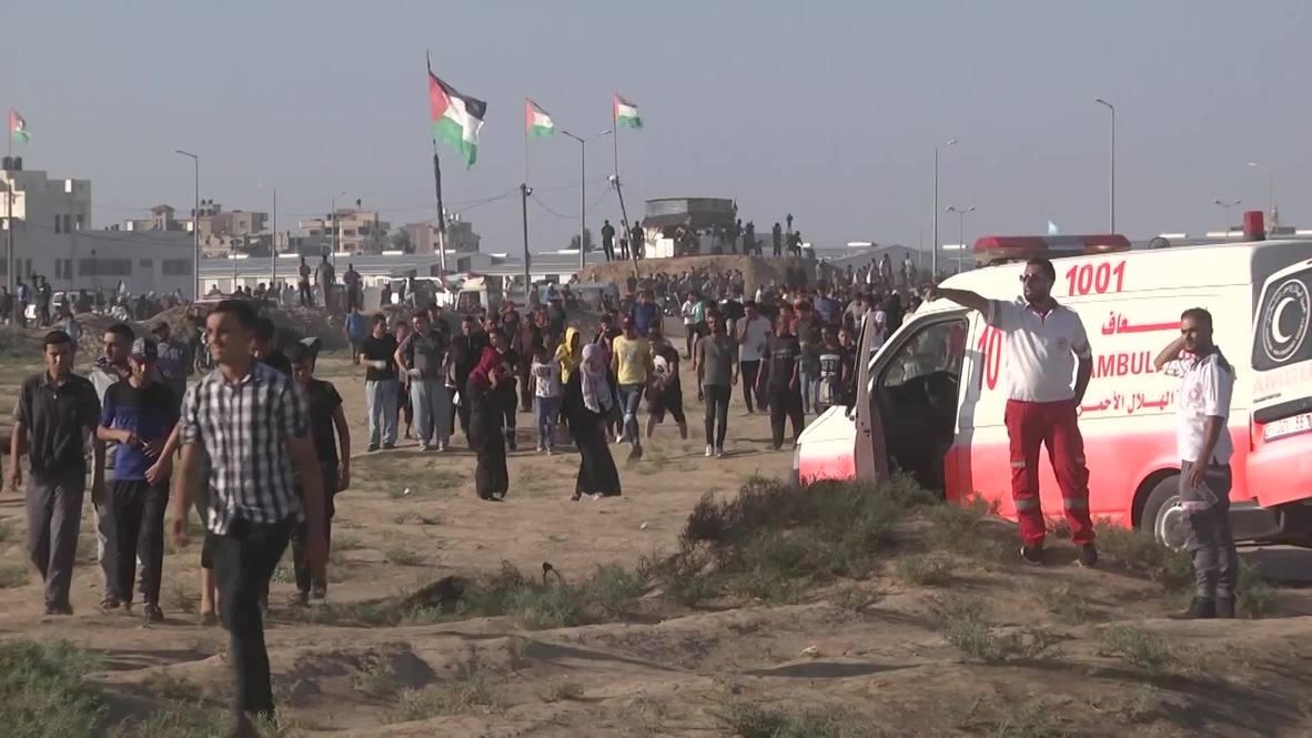 Estado de Palestina: Fuerzas israelíes matan a tiros a dos adolescentes en una protesta en Gaza