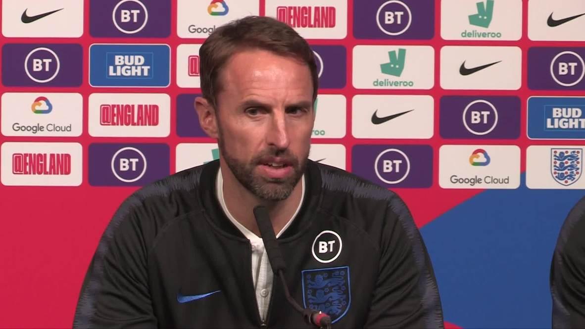 UK: England manager Gareth Southgate says team 'hungry' ahead of international season