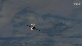 EEI: Nave no tripulada Soyuz MS-14 se desacopla con éxito de la Estación Espacial Internacional