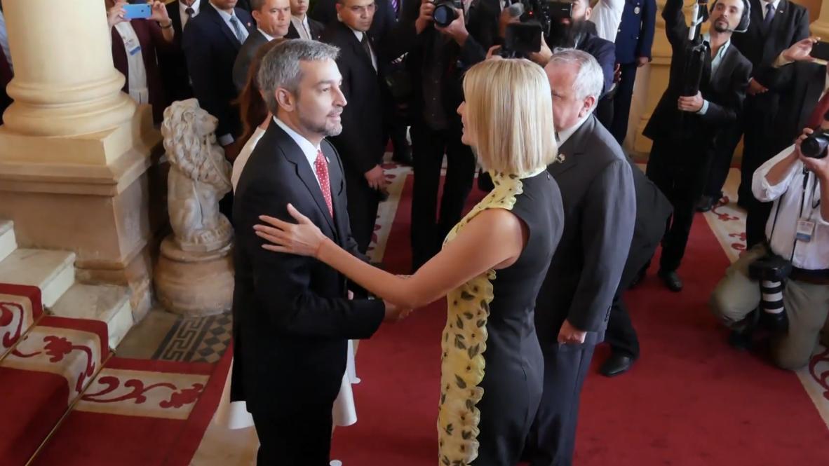 Paraguay: Ivanka Trump se reúne con el presidente Abdo Benítez en Asunción