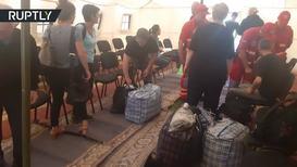 Украина: Адвокат украинских моряков объявил о начале обмена пленными - автобусы прибывают в аэропорт Борисполь