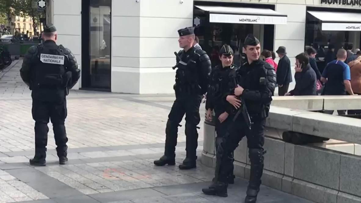 """Francia: Despliegue policial antes de una nueva protesta de los """"chalecos amarillos"""""""