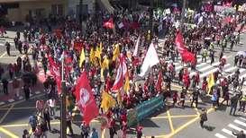 Brasil: Marcha del 'Grito de los excluidos' protesta en defensa de la Amazonía