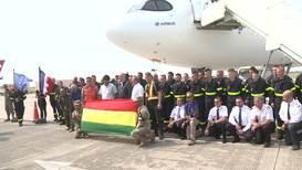 Bolivia: Bomberos franceses llegan para ayudar a extinguir los incendios del Amazonas