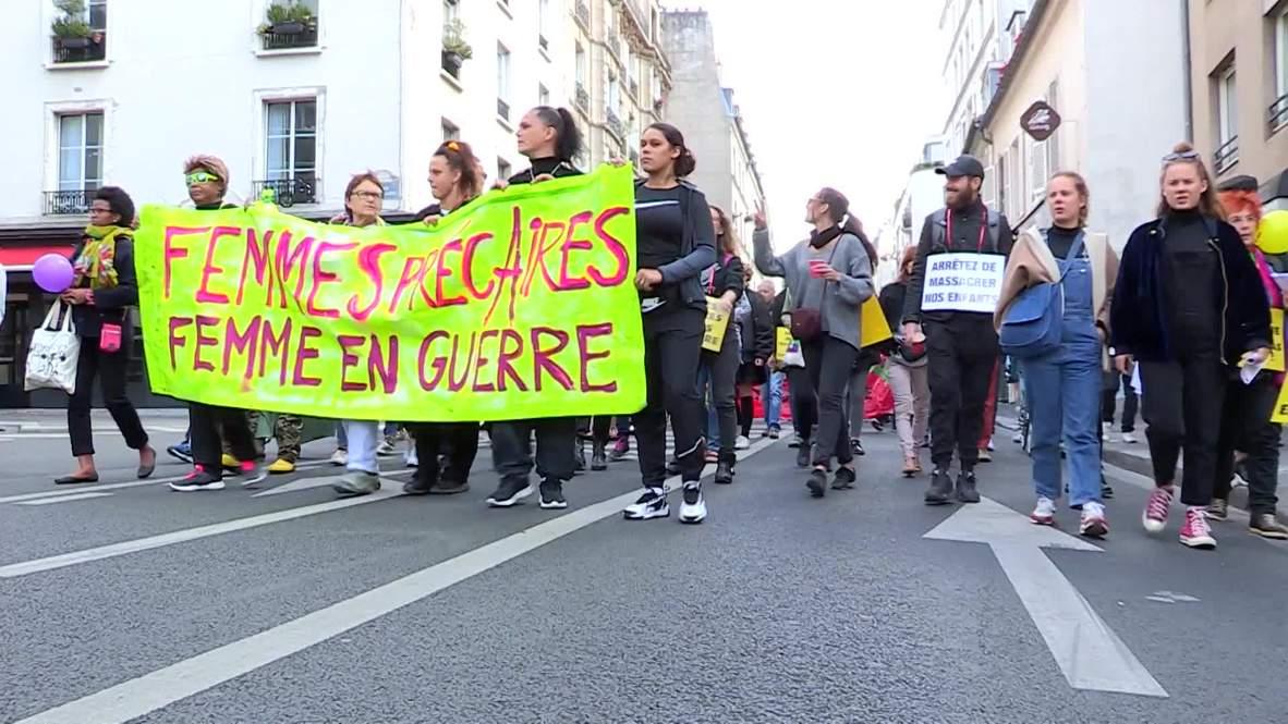 France: Paris demo protests violence against women