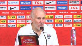 China: Entrenador de EE.UU. comenta la victoria sobre Brasil en la Copa Mundial de Baloncesto