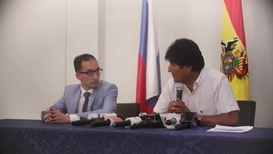 Bolivia: Avión ruso Ilyushin llega a combatir incendios y es recibido por Evo Morales