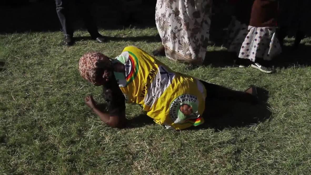 Zimbabue: Aldeanos lloran la muerte del expresidente Robert Mugabe en su localidad natal