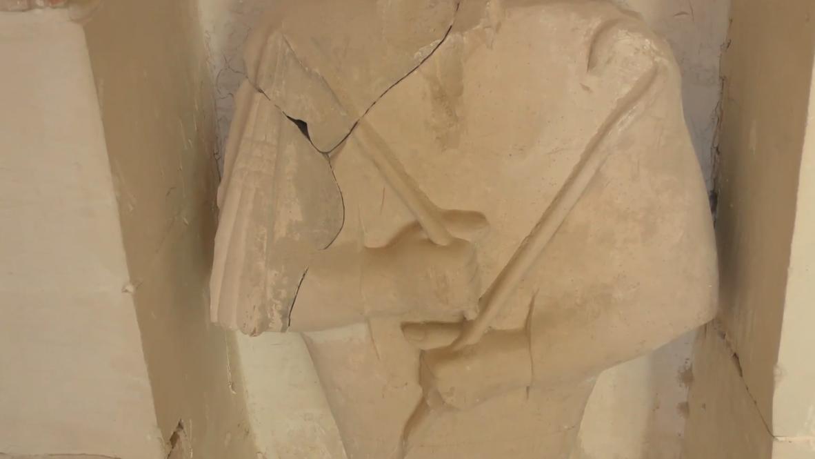 مصر: قبر كاهن مصري قديم يخضع لترميم في مدينة الأقصر