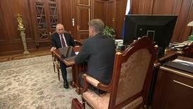 """Россия: """"Нужно адаптировать ваши наработки к масштабным задачам"""" – Путин на встрече с Грефом"""