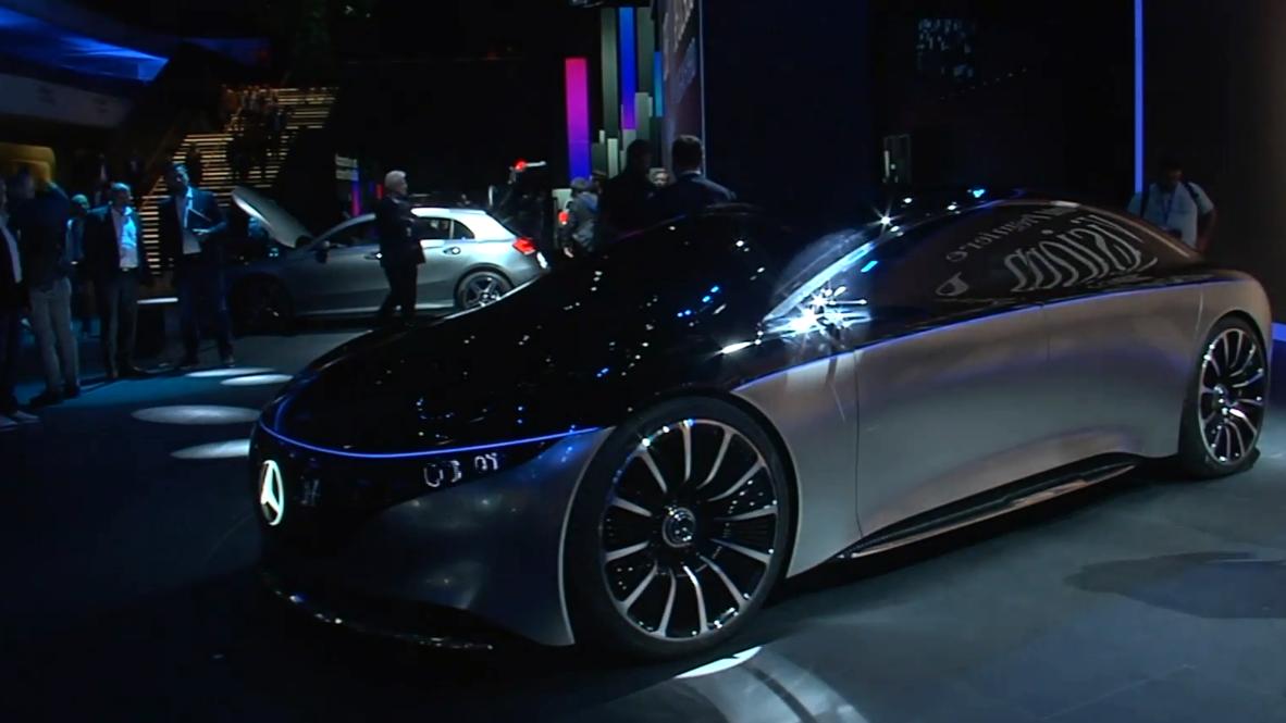 Germany: Mercedes-Benz, BMW reveal futuristic concepts at Frankfurt Motor Show