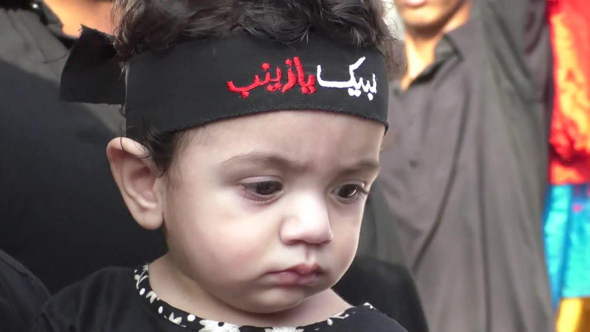 Pakistan: Muslims in Rawalpindi commemorate Ashura with self-flagellation