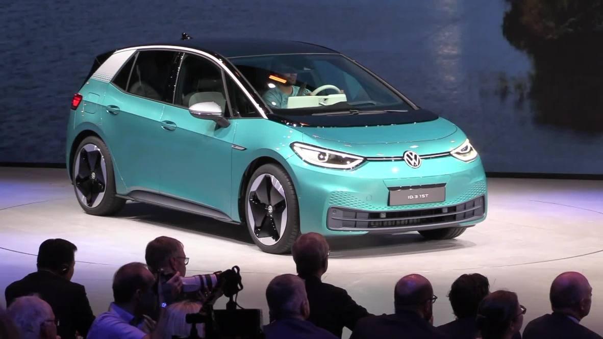 Volkswagen, Audi and Porsche unveil new EVs at Frankfurt Motor Show