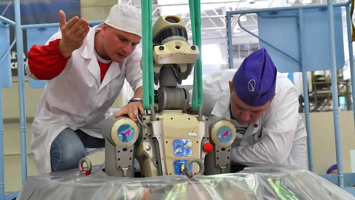 Rusia: El robot ruso FEDOR finalmente llega a casa