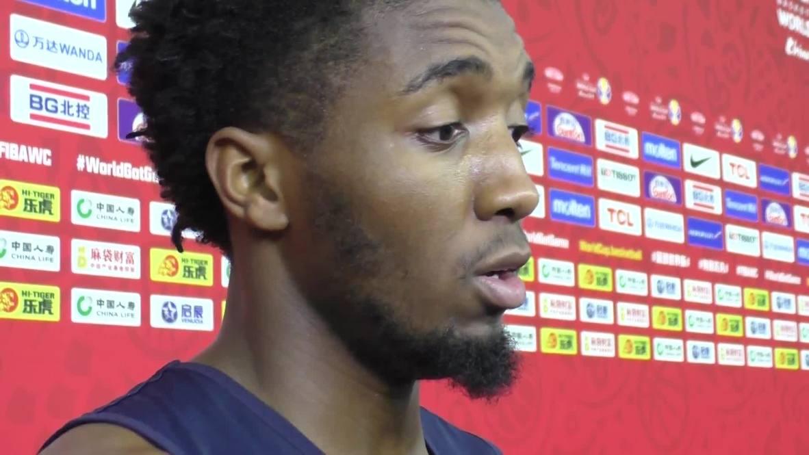 China: USA's Mitchell 'blocked' Jazz teammate Gobert ahead of France QF