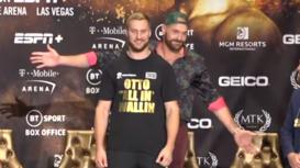Tyson Fury deja KO al público con su divertida respuesta a un periodista en español