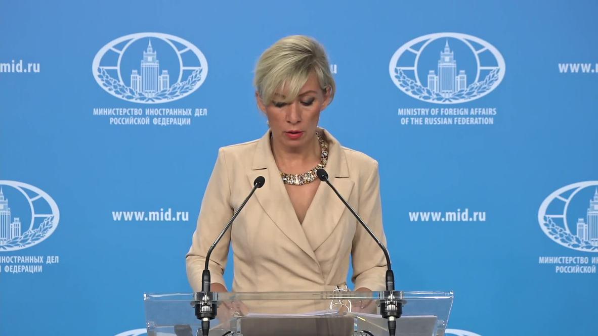 Rusia:'Washington provoca carrera armamentista espacial' - portavoz del Min. de Exteriores