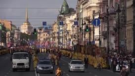 Россия: Тысячи верующих прошли крестным ходом по центру Санкт-Петербурга