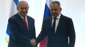 """Россия: """"Каждая встреча между нами очень важна"""" – Нетаньяху на встрече с Шойгу в Сочи"""