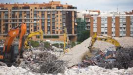 España: Demolición del antiguo estadio del Atlético de Madrid genera quejas de la población local