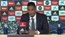 España: Alphonse Areola ofrece su primera rueda de prensa como portero del Real Madrid