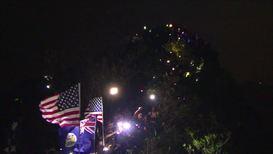 Hong Kong: Activists light up Lion Rock Hill marking Mid-Autumn Festival