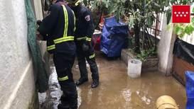 España: Las lluvias torrenciales vuelven a causar inundaciones en Madrid