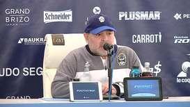 Argentina: Maradona pierde su primer partido en su vuelta como entrenador