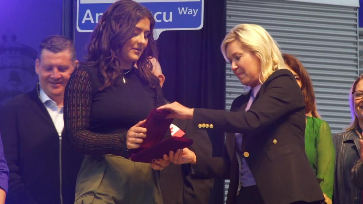 Canadá: Primer ministro Trudeau felicita a la campeona del Abierto de EE.UU., Andreescu
