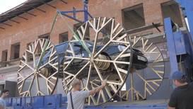 Россия: Лада-карета. Житель Краснодара приделал автомобилю огромные колёса