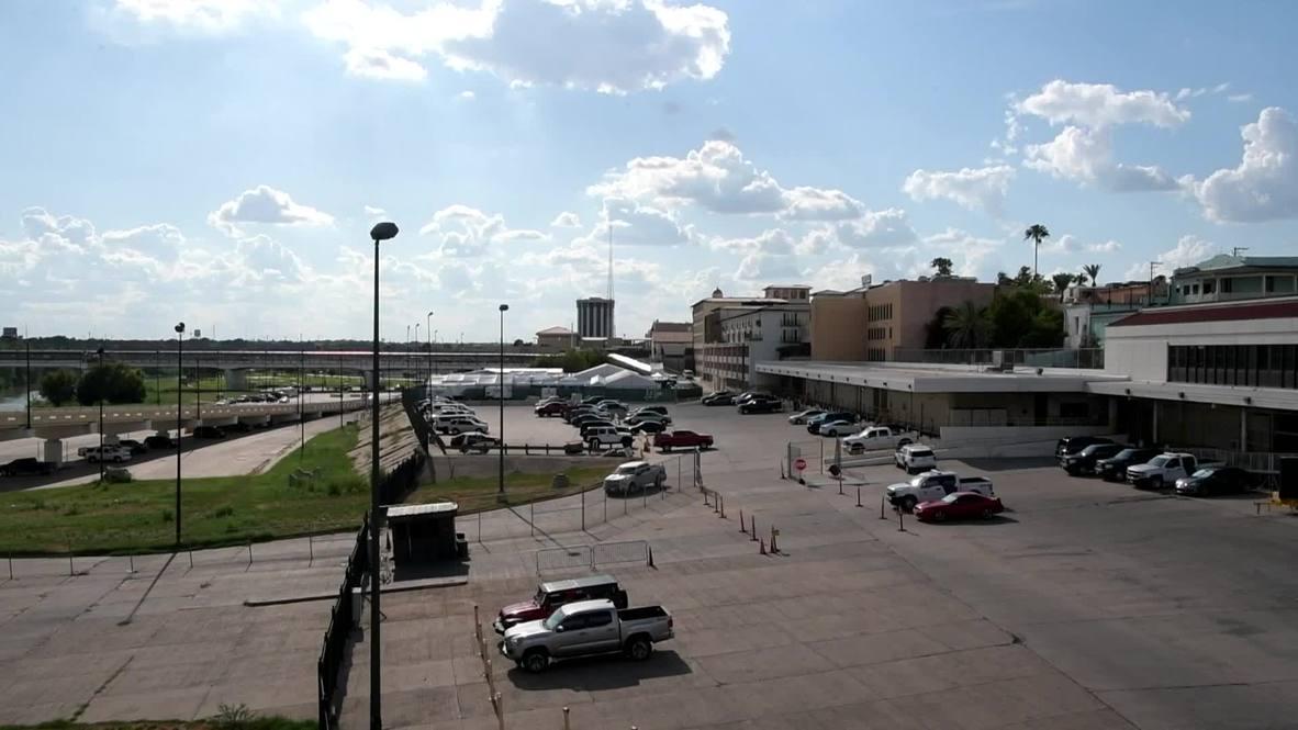 USA: 'Tent courts' along Texas' Southern border start receiving asylum applications