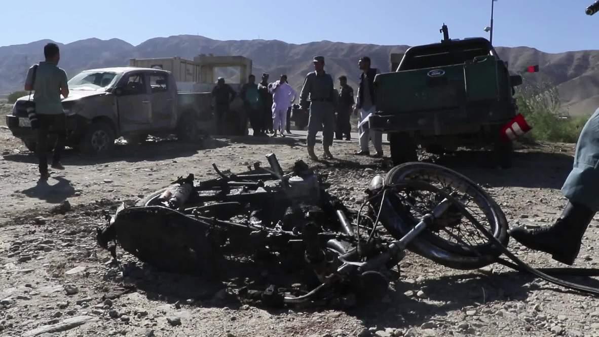 أفغانستان: 24 قتيلا في هجوم انتحاري على حشد مؤيد للرئيس غني