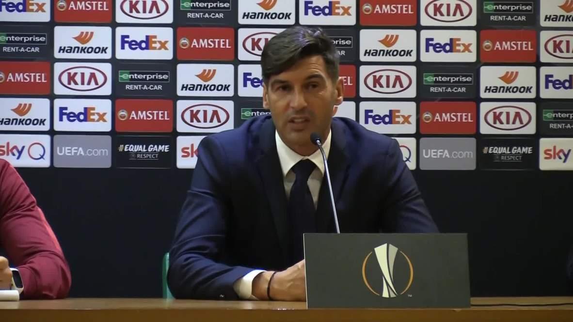Italy: Roma thrash Basaksehir in Europa League opener