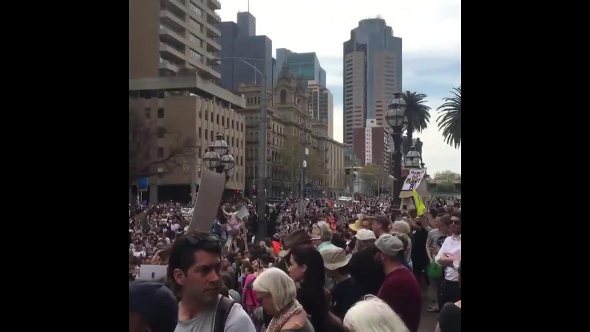 Australia: Tens of thousands flood Melbourne for global climate strike
