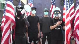 Hong Kong: Protesters call on US to pass law protecting Hongkongers' rights