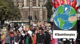 Reino Unido: Activistas se movilizan contra el cambio climático en Londres
