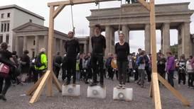 Alemania: Grupos de activistas se unen a la huelga mundial por el clima en Berlín