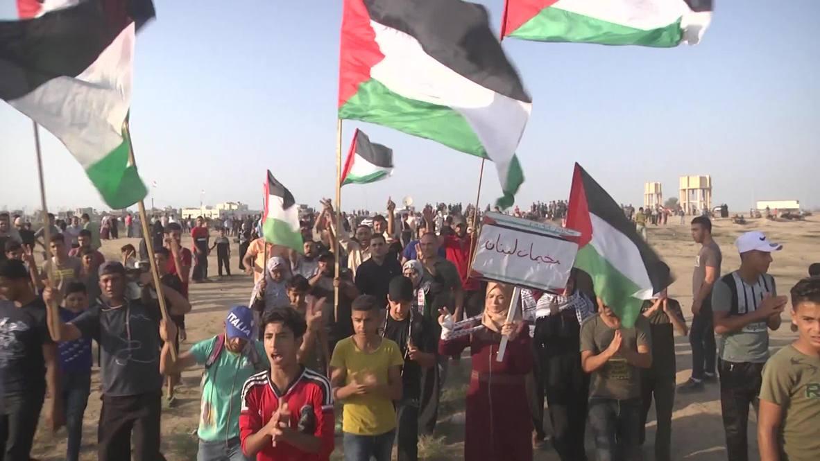 State of Palestine: Dozens injured at weekly Gaza border rally